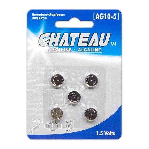 BATTERY-CHATEAU-AG10-389-5PK
