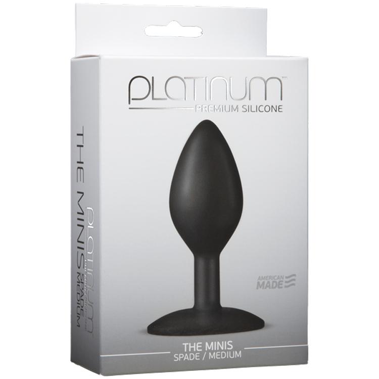 PLATINUM-SILICONE-SPADE-BLACK