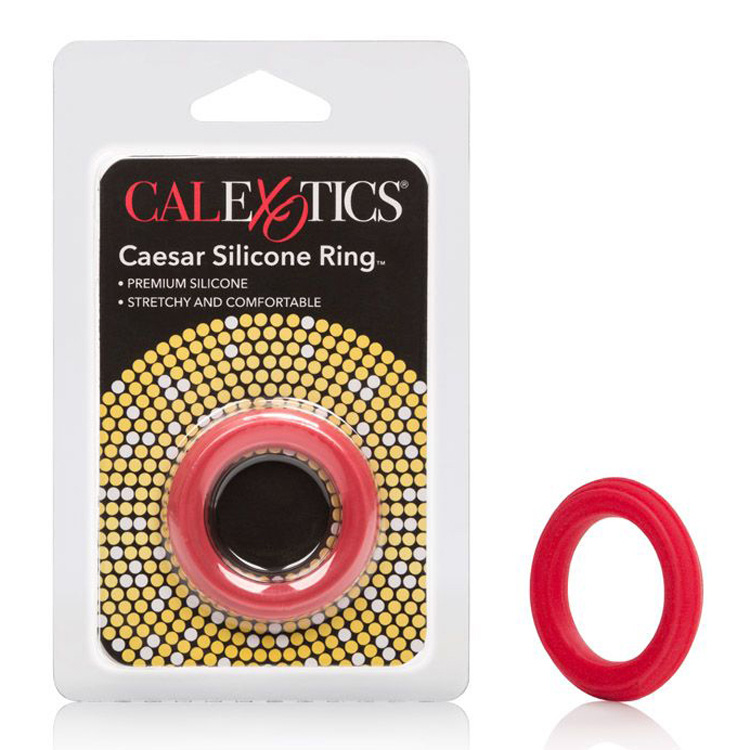 Caesar-Silicone-Ring-Red