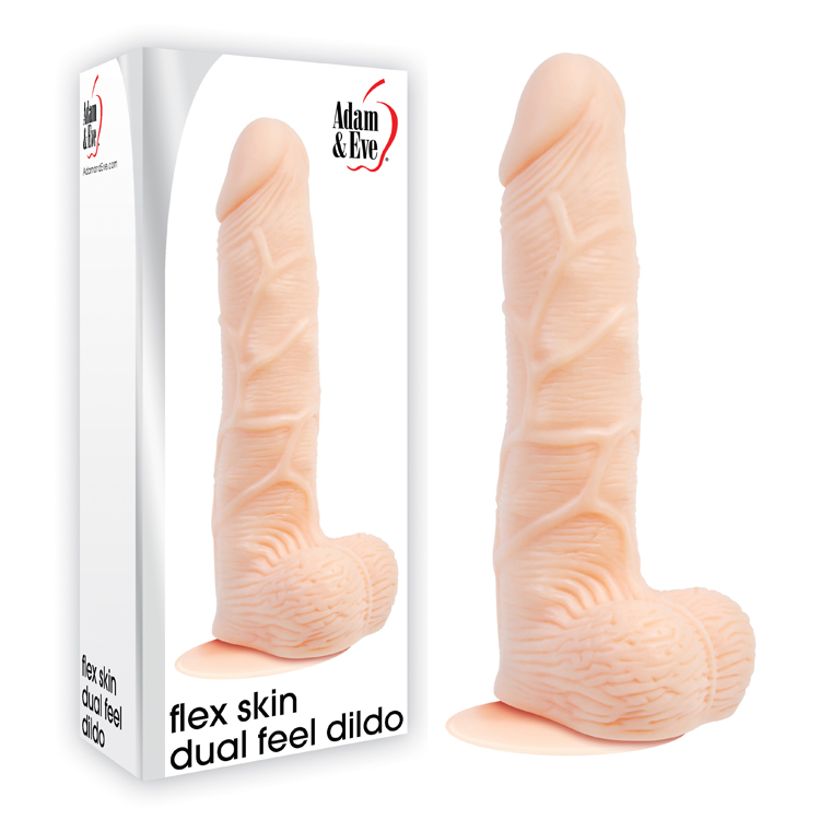 FLEX-SKIN-DUAL-FEEL-DILDO
