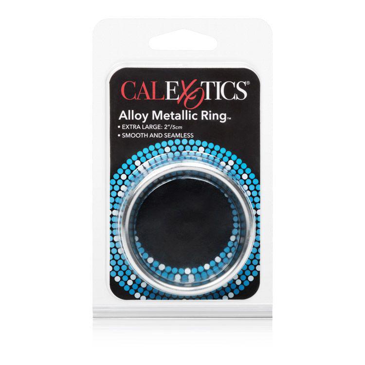 Alloy-Metallic-Ring-XL-Silver