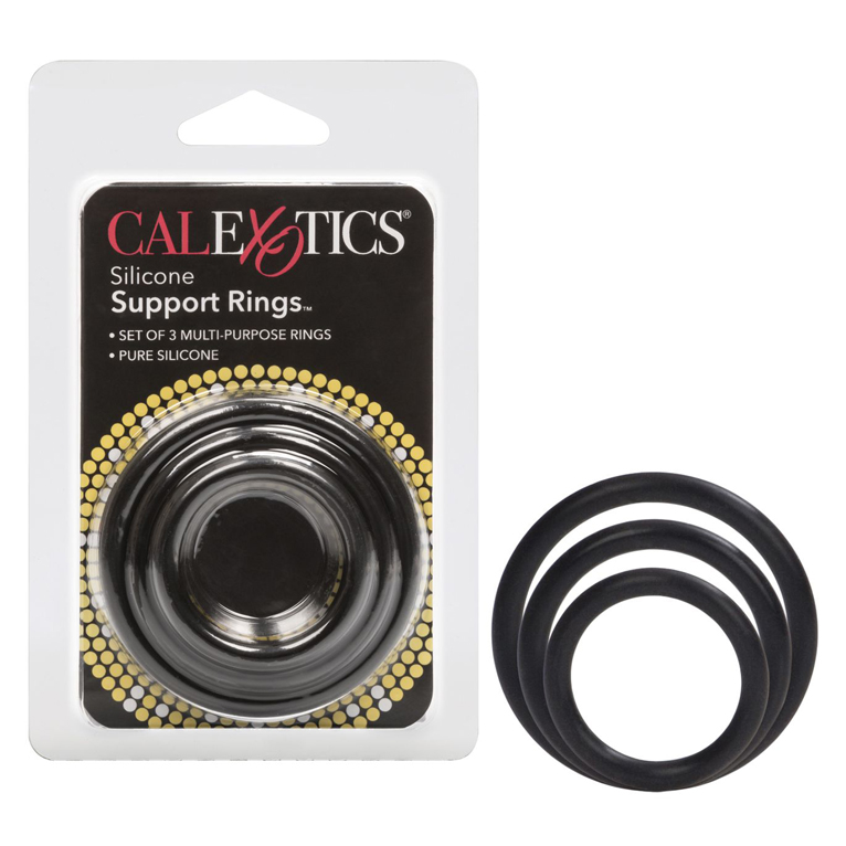 Silicone-Support-Rings-Black