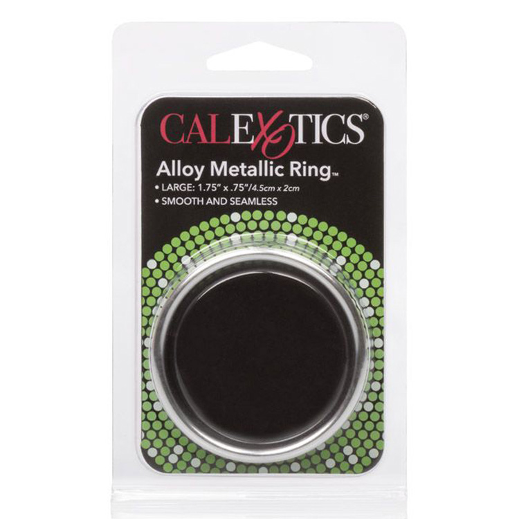 Alloy-Metallic-Ring-Large-Silver