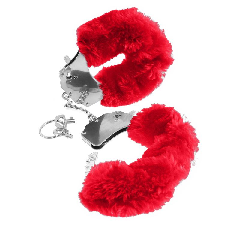 RED-FURRY-LOVE-CUFFS