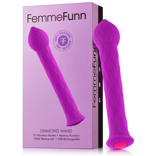 Image de Femmefunn - Diamond wand - Mauve