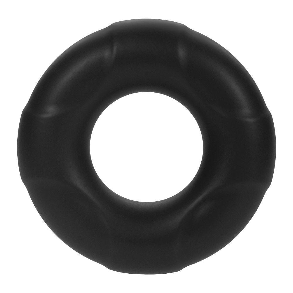 Image de F-33: 17MM 100% LIQUID SILICONE C-RING - Noir - Petit