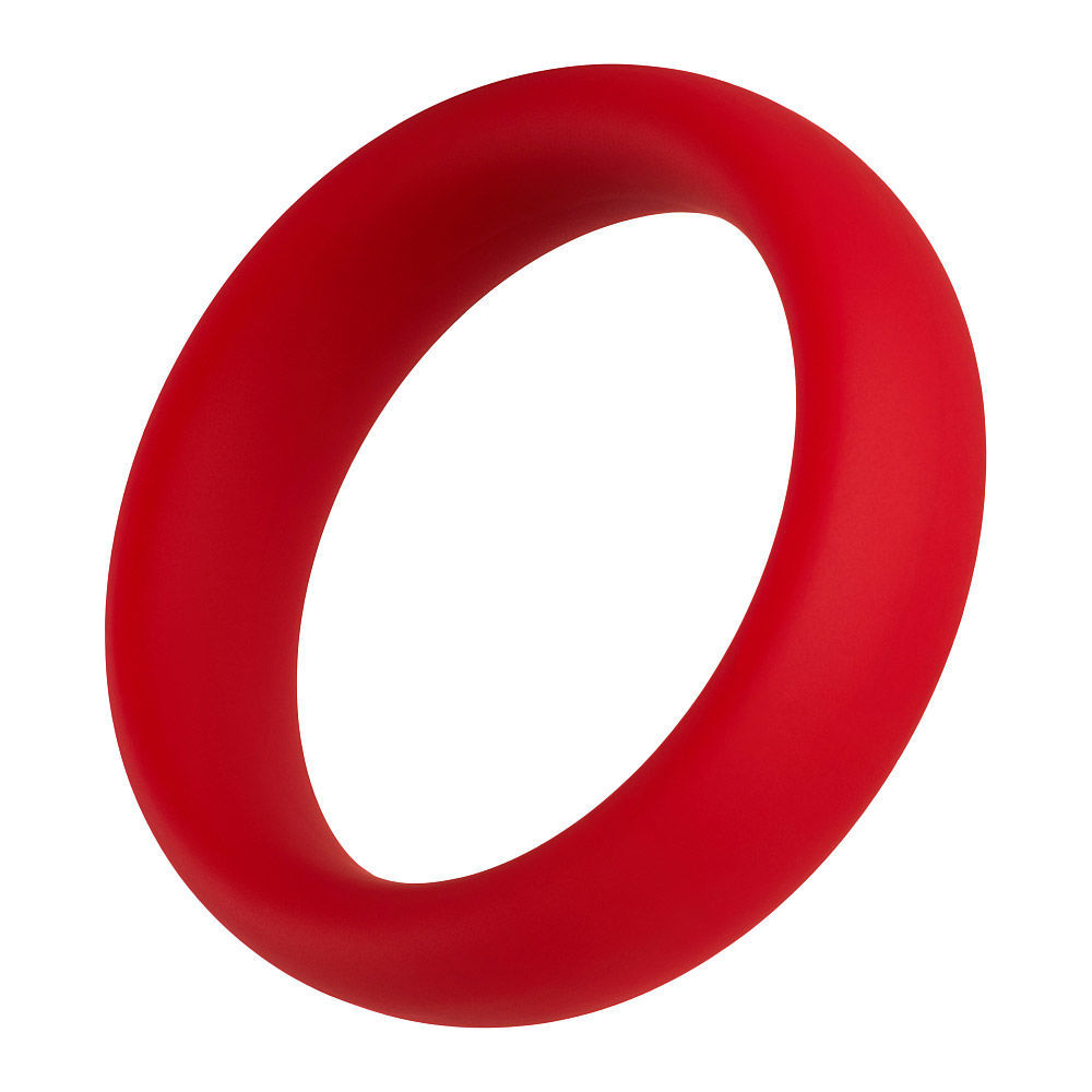 Image de F-64:  40MM 100% SILICONE RING WIDE - Rouge Petit