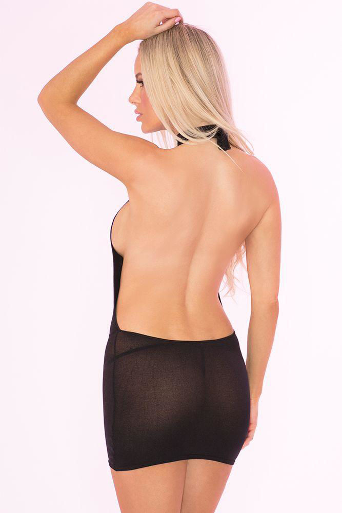 Image de Bare With Me Open Back Dress - OS
