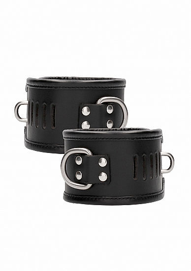 Image de Restraint Handcuff With Padlock - Black
