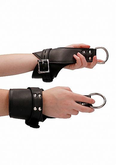Image de Suspension Wrist Bondage Handcuffs - Black
