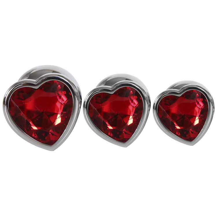 THREE-HEARTS-GEM-ANAL-PLUG-SET