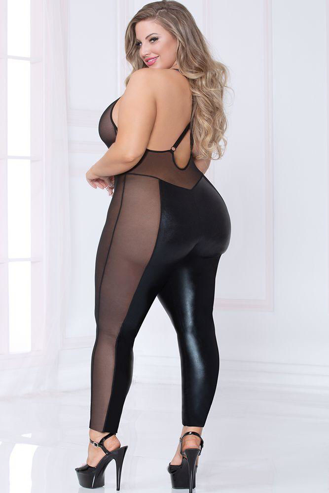 Image de Lamé and Ignite Bodysuit OSXL