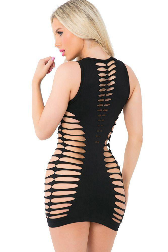 Image de Love or Lust Ebony Seamless Dress OS
