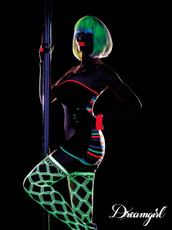 Image de Dress - Glow in black light