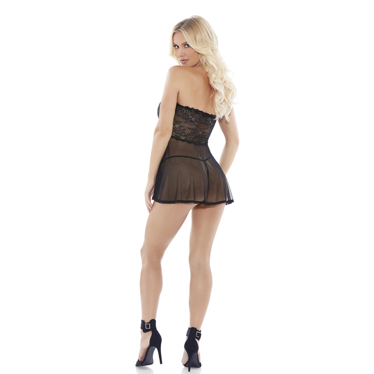 MESH-LACE-BABY-DOLL