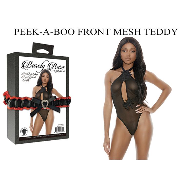 PEEK-A-BOO-FRONT-MESH-TEDDY