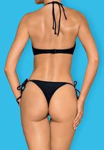 Image de Costarica - Black Strappy Thong Bikini - M