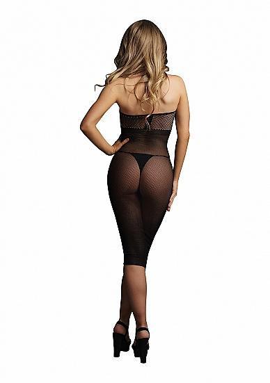 Image de High neck dress - Black - O/S