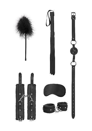 Image de Ouch - Beginners Bondage Kit - Black - Shots